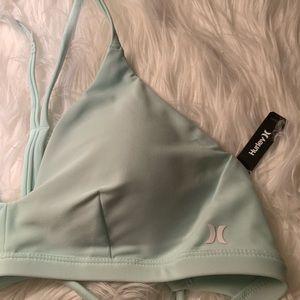 Hurley Mint Bikini Top